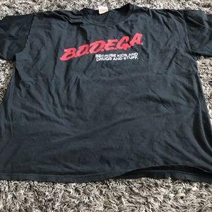 "Bodega XXL like new ""drugs""."